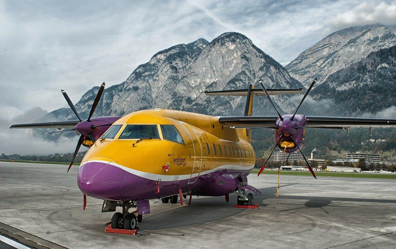 Aircraft-Innsbruck-Austria