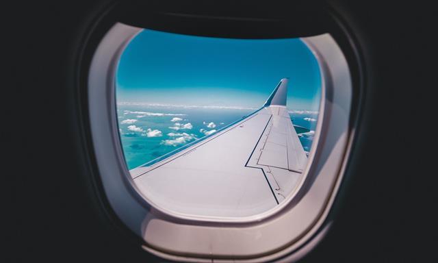 holes on Airplane windows