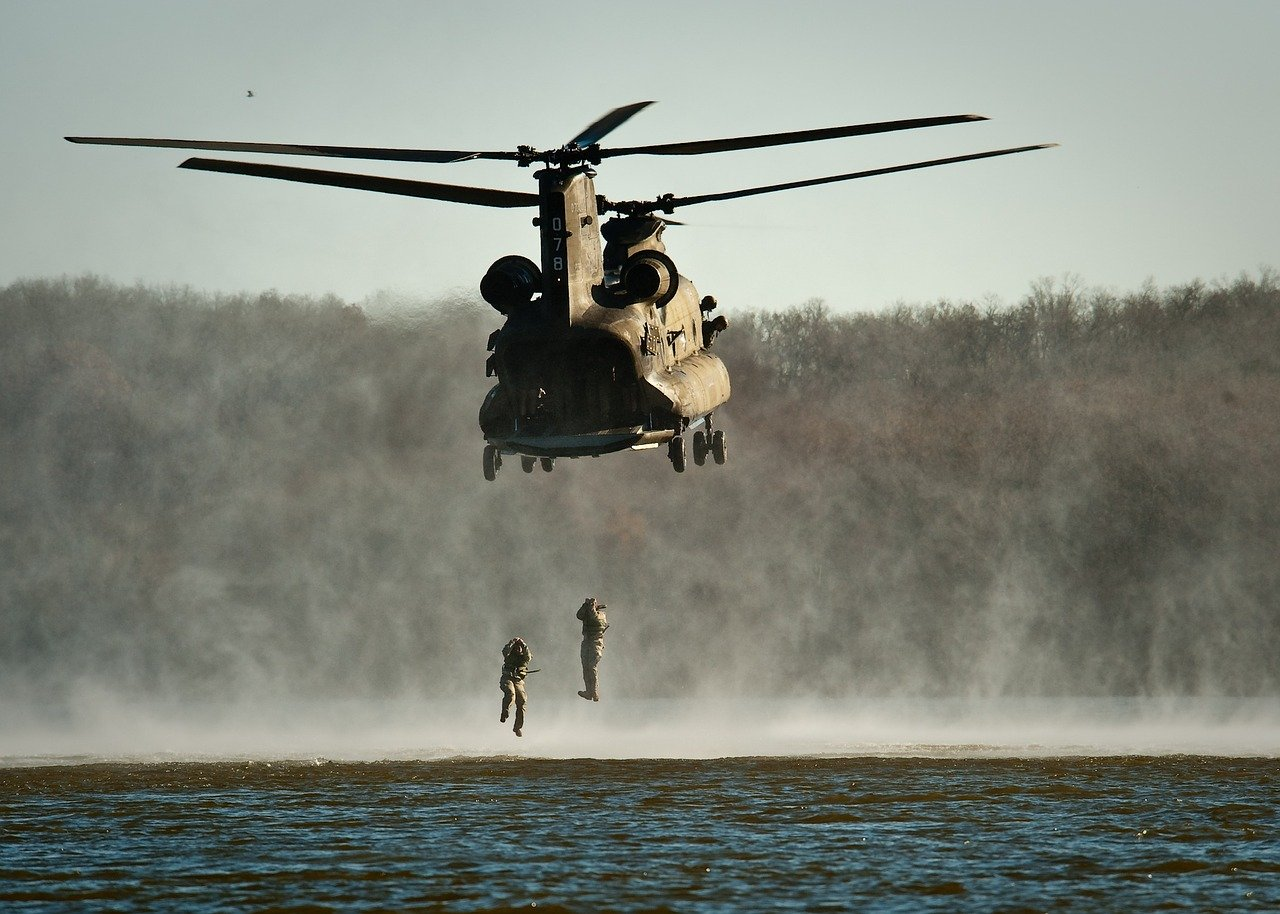 Military Helicopter - 2