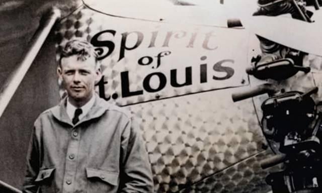 Charles Lindbergh-First transatlantic flight