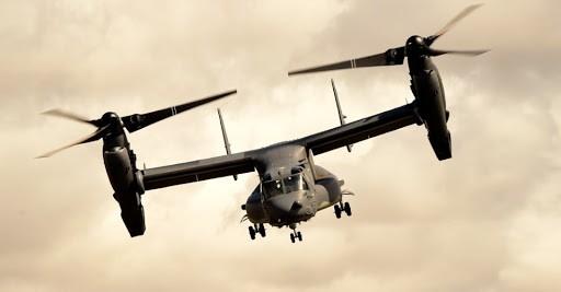 V-22 Osprey - tilt rotor aircraft