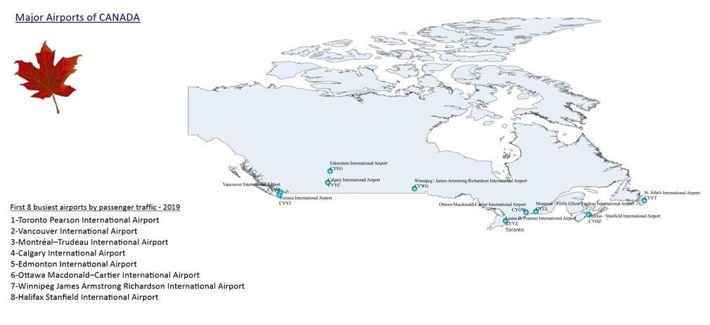 Canada Major Airports
