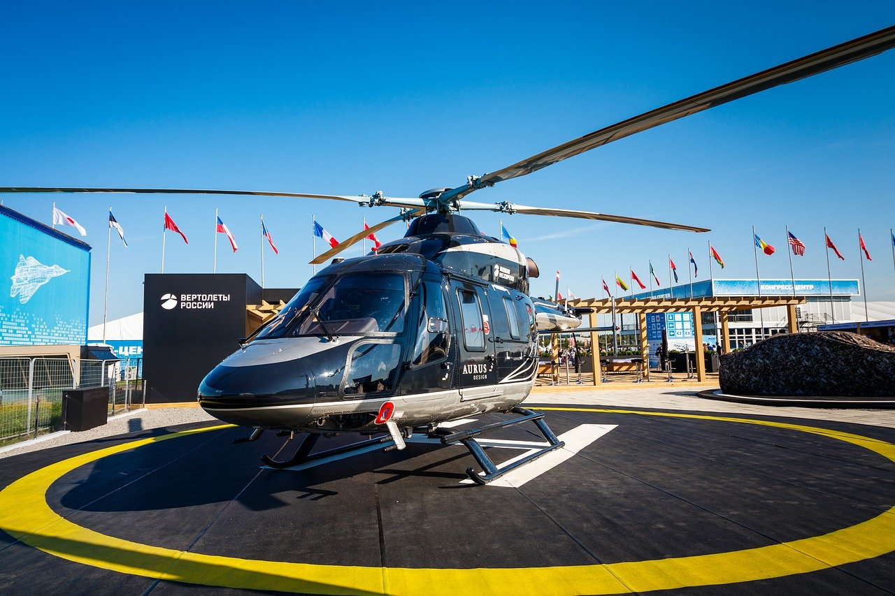 parking helicopter