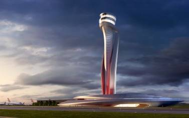 istanbul airport control tower