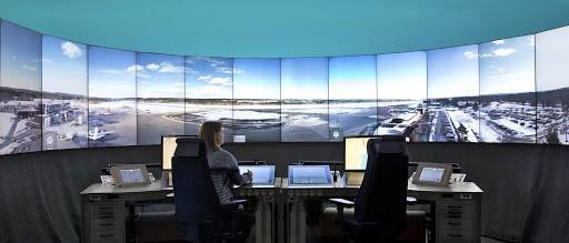 remote tower in sweden
