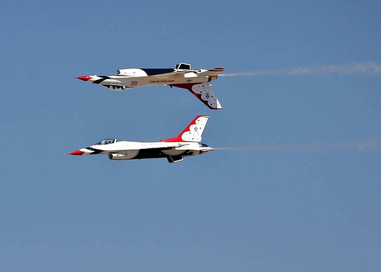 airshow jets