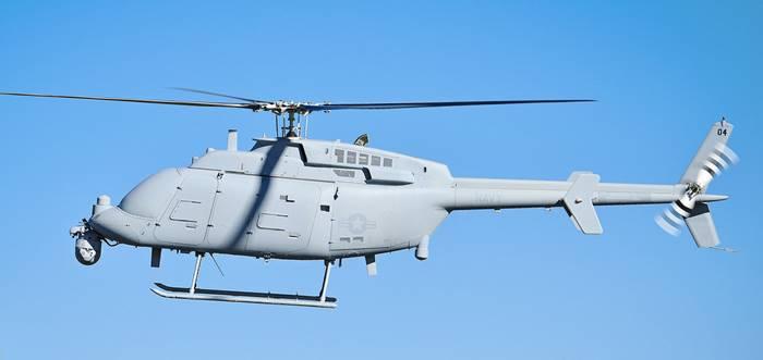 Pilotless Airplane-helicopter-Northrop Grumman MQ-8C Fire Scout