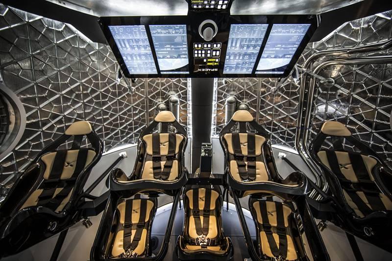 spacecraft inside