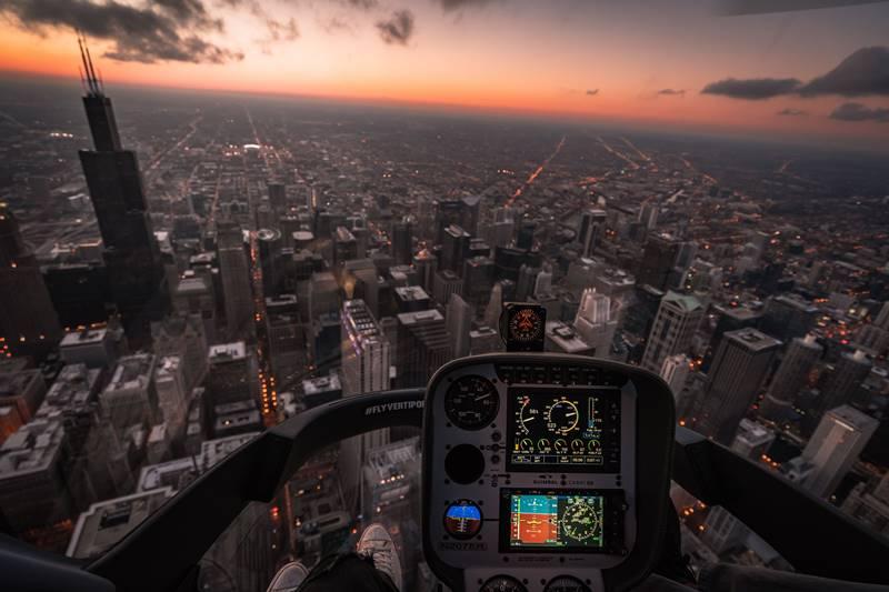 stunning cockpit view