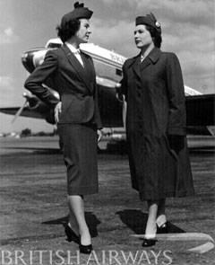 british airways uniforms