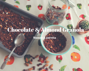 Chocolate & Almond Granola blog