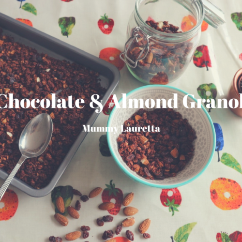 Chocolate & Almond Granola blog