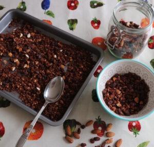 Chocolate & Almond Granola