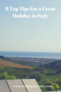 Italian holiday tips