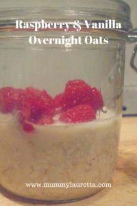 Raspberry & Vanilla Overnight Oats