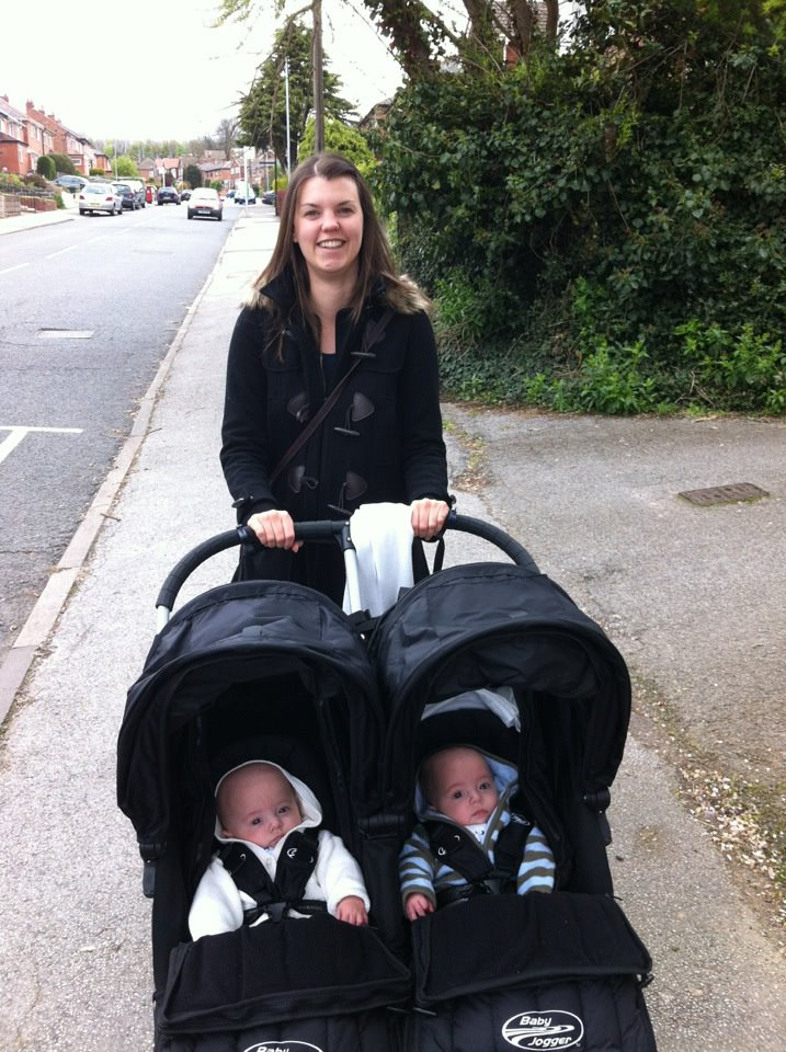Coping Out and about with twins