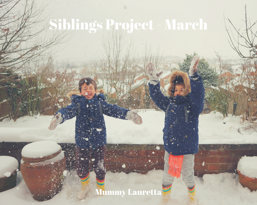 Siblings Project March 18 blog
