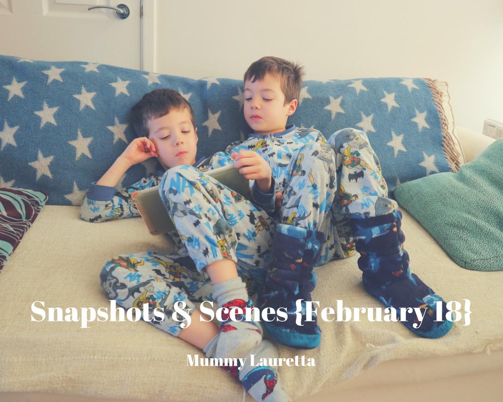 Snapshots & Scenes Feb18 blog
