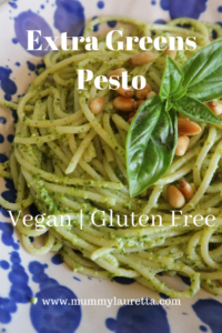 Extra Greens Pesto Pin