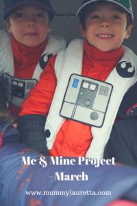 Me & Mine Mar 18 Pin