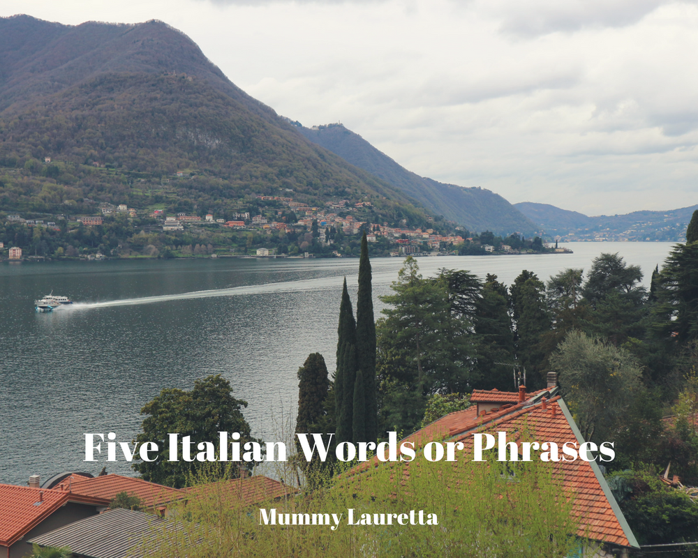 5 Italian Words blog