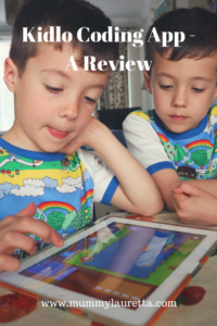 Kidlo coding app review Pin