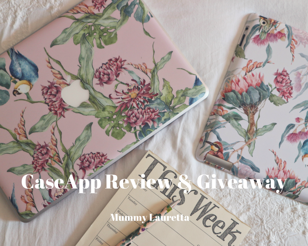 CaseApp Review & Giveaway blog