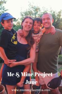 Me & Mine June 18 Pin