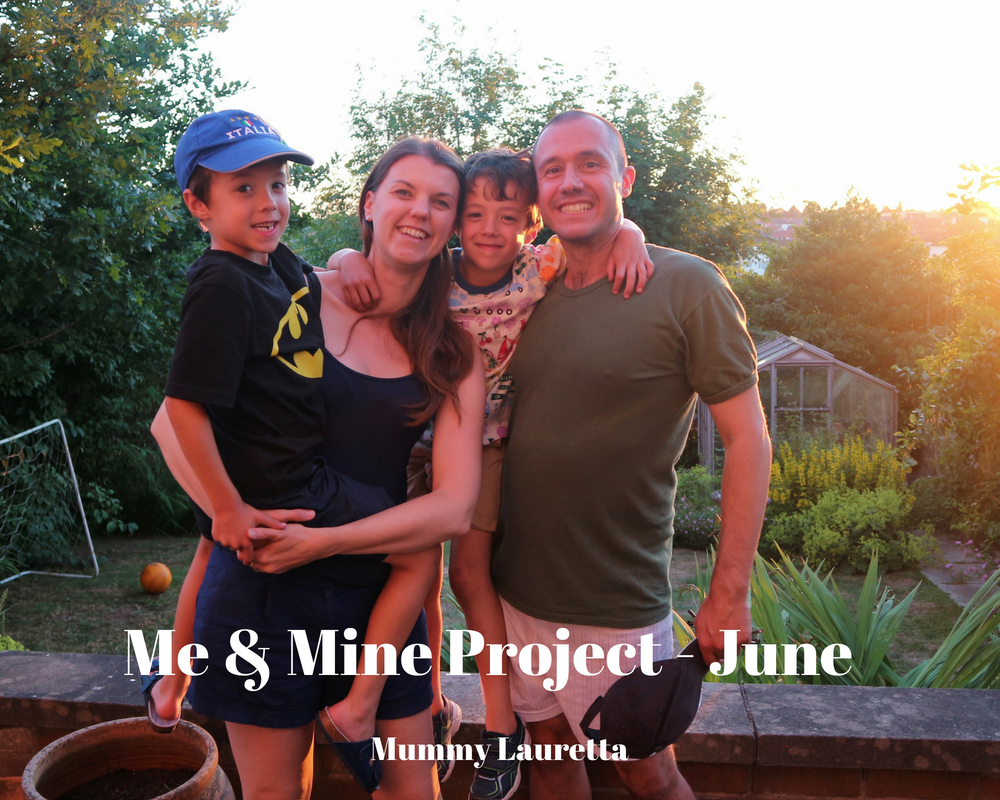 Me & Mine June 18 blog
