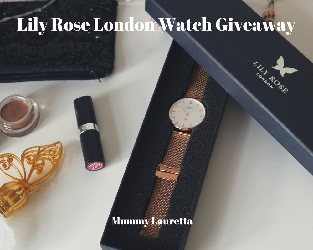 Lily Rose London Watch Giveaway Blog