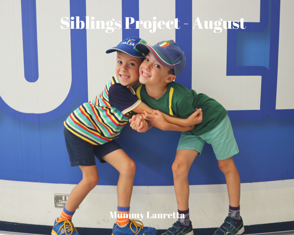 Siblings Project August 18 Blog