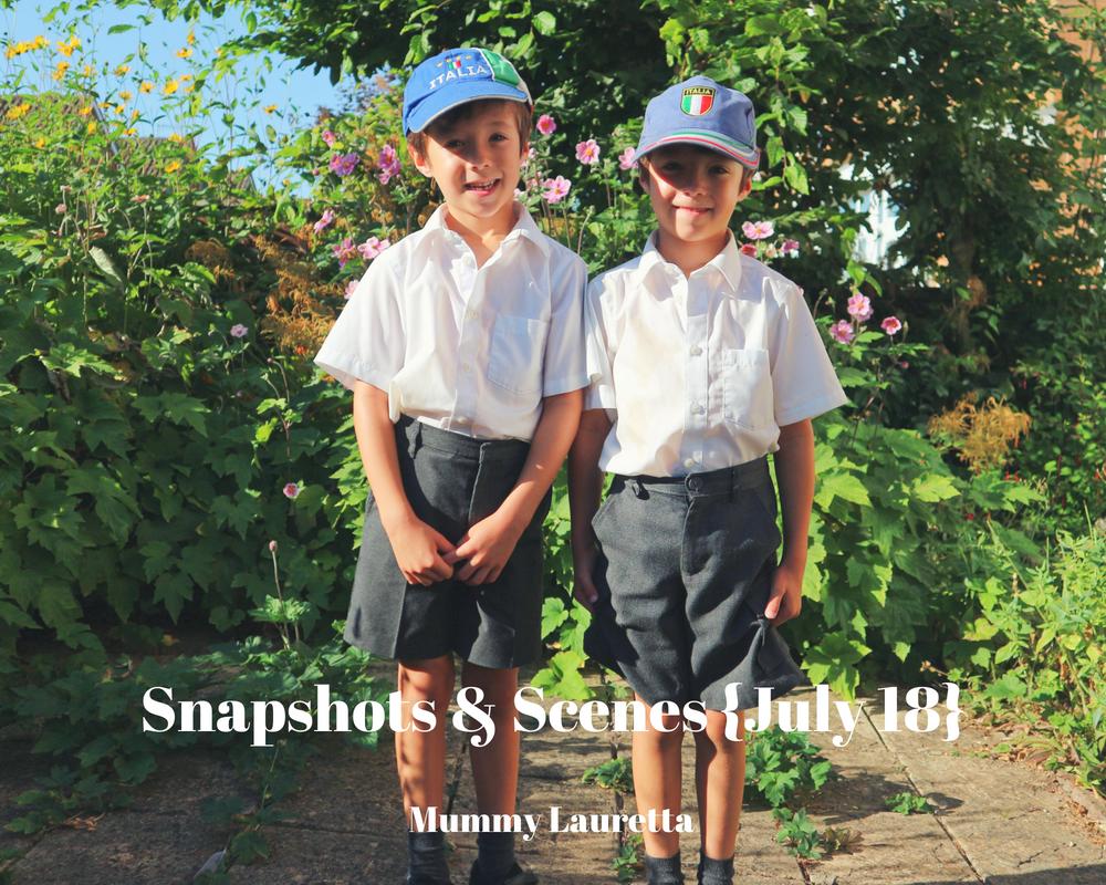 Snapshots & Scenes July 18 blog
