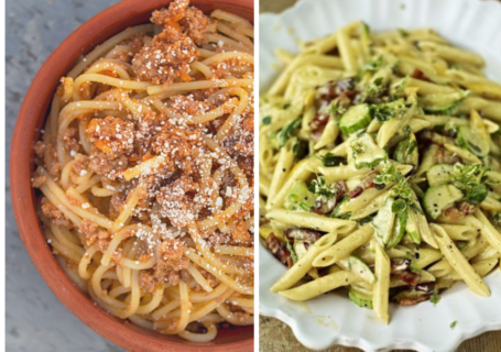Our favourite Italian recipe - Ragu or Carbonara?