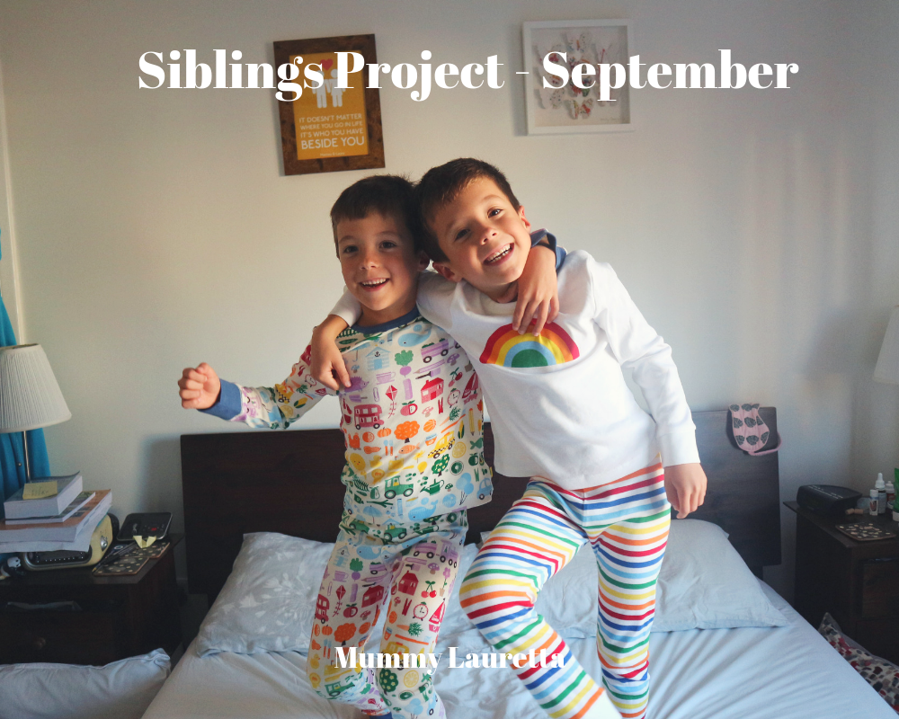 Siblings Project Sept 18 Blog