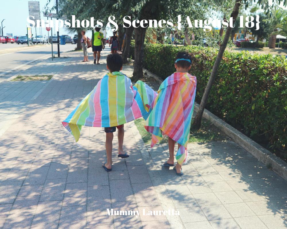 Snapshots & Scenes August 18 blog