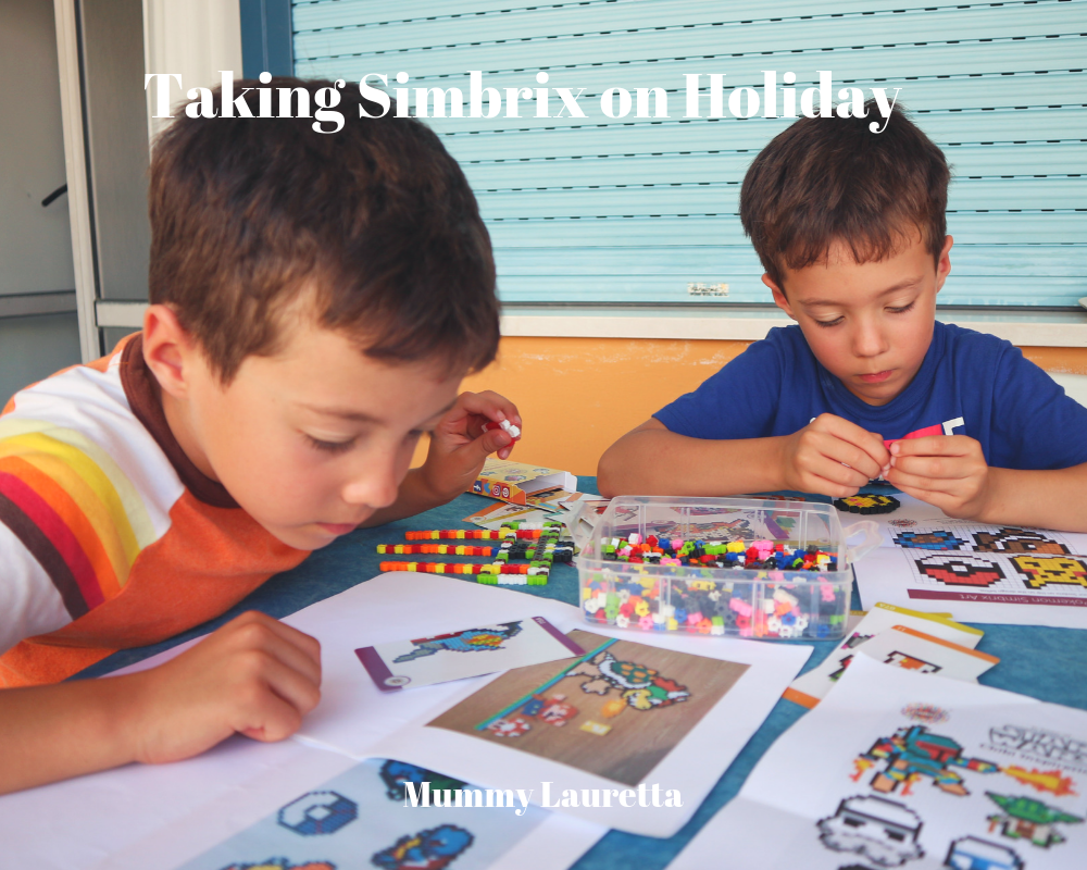 Taking Simbrix on Holiday Blog