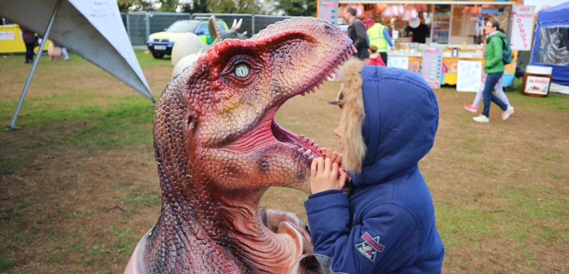 Jurassic Kingdom at Wollaton Park Nottingham