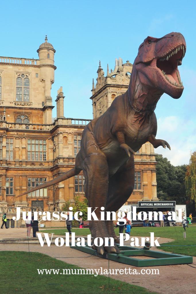 Jurassic Kingdom at Wollaton Park Nottingham PIN