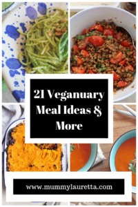 21 Veganuary Meal Ideas Pin