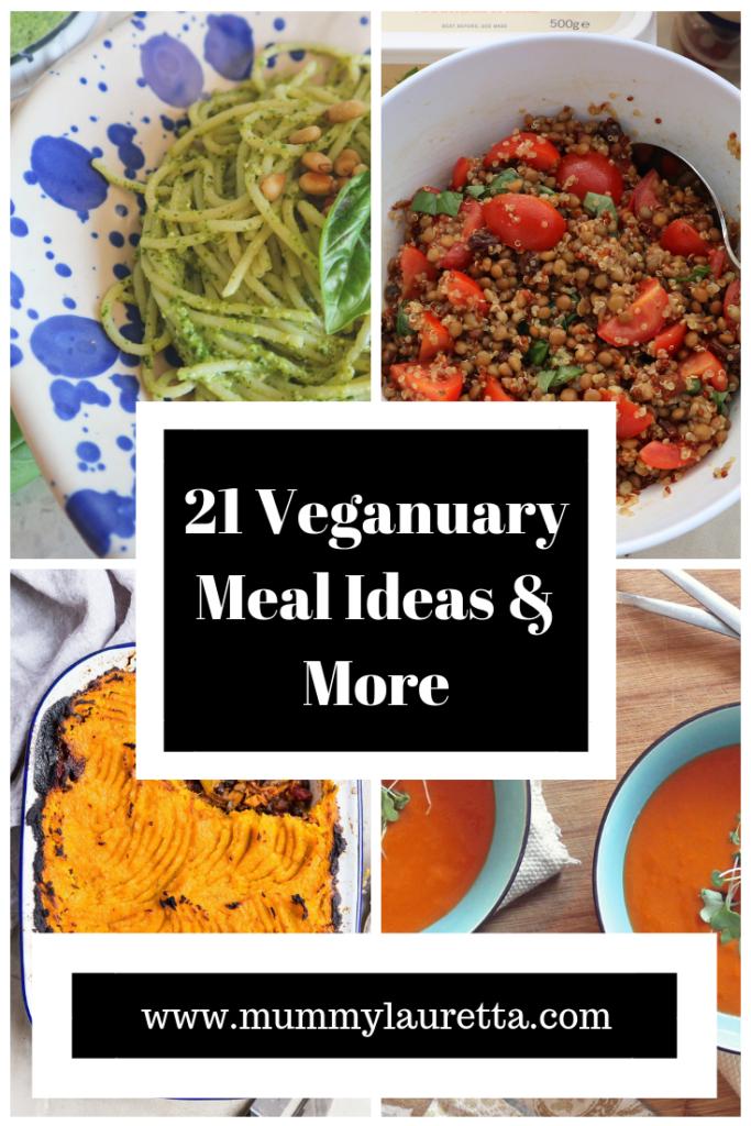 21 Veganuary Meal Ideas Pin