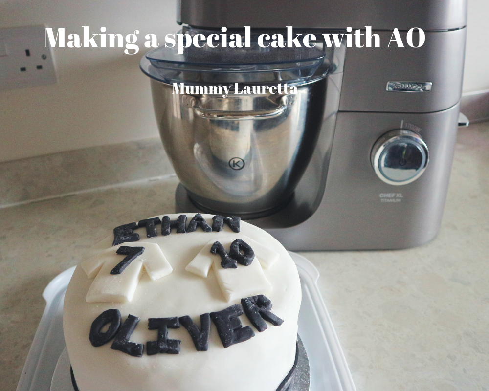 Making a special cake with AO Blog