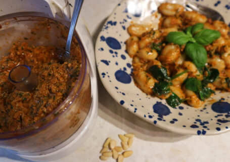 Creamy Red Pesto Gnocchi