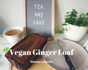 Vegan Ginger Loaf Blog