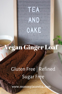 Vegan Ginger Loaf Pin