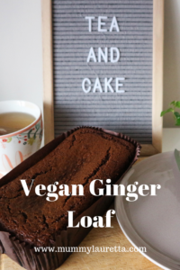 Vegan Ginger Loaf Pin