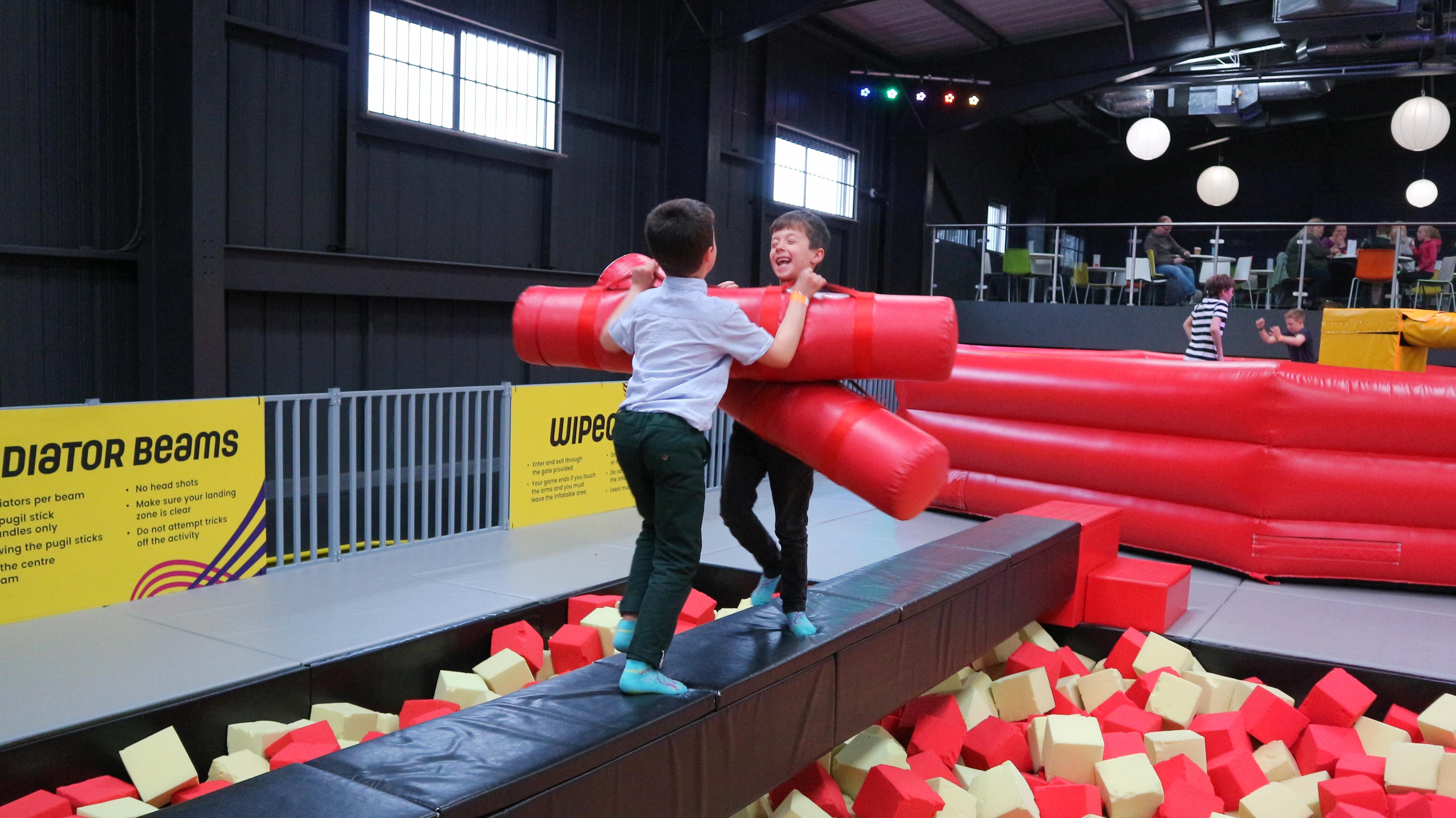 Kanga Family Bounce Session at Red Kangaroo Nottingham
