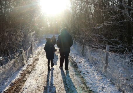 A visit to Winter Wonderland at Conkers