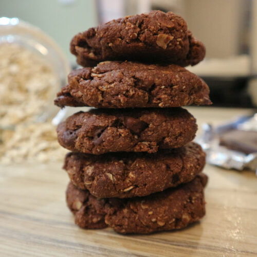 Chocolate Oat Cookies