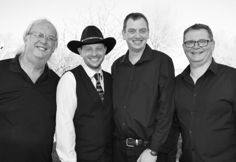 Left To Right : Clive Grant, Jeff, Matty Baker & Mark Dunn