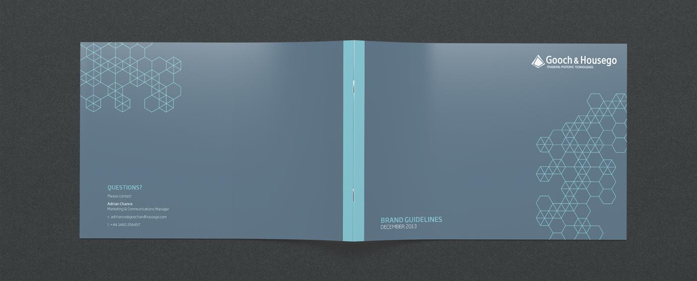 Gooch & Housego Branding book